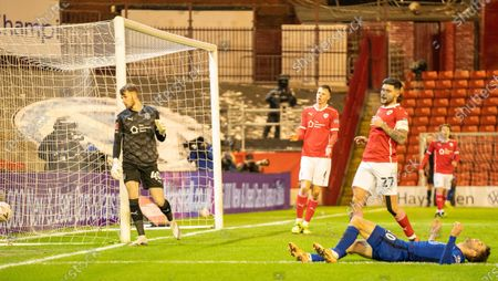 Christian Pulisic of Chelsea goes close to a goal for Chelsea in the first half; Oakwell Stadium, Barnsley, Yorkshire, England; English FA Cup 5th round Football, Barnsley FC versus Chelsea.