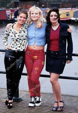 Tina Landini, Tina Hall and Cordelia Bugeja - Family Affairs 1998