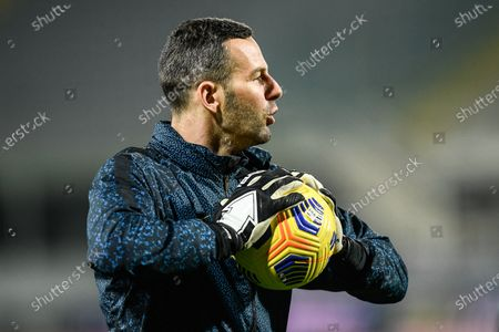 Samir Handanovic of FC Internazionale during the Serie A match between ACF Fiorentina and FC Internazionale at Stadio Artemio Franchi, Florence, Italy on 5 February 2021.  (Photo by Giuseppe Maffia/NurPhoto)