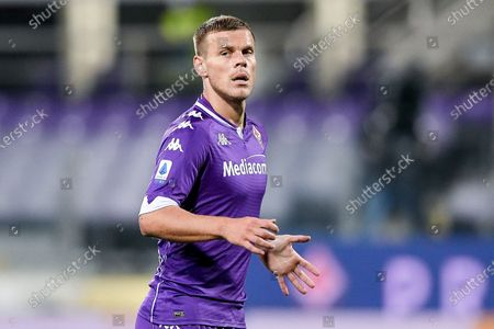 Aleksandr Kokorin of ACF Fiorentina during the Serie A match between ACF Fiorentina and FC Internazionale at Stadio Artemio Franchi, Florence, Italy on 5 February 2021.  (Photo by Giuseppe Maffia/NurPhoto)