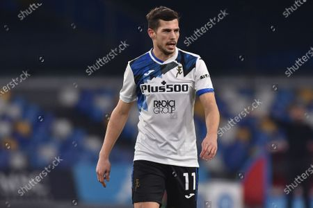 Remo Freuler of Atalanta BC during the Coppa Italia match between SSC Napoli and Atalanta BC at Stadio Diego Armando Maradona Naples Italy on 3 February 2021. (Photo by Franco Romano/NurPhoto)