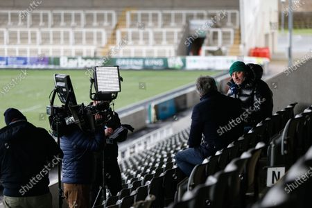 Editorial photo of Newcastle Falcons v Exeter Chiefs, Gallagher Premiership, Rugby, Kingston Park, Newcastle, UK - 07 Feb 2021