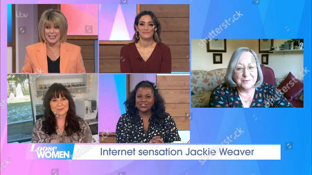 Ruth Langsford, Frankie Bridge, Coleen Nolan, Brenda Edwards, Jackie Weaver