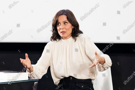 Aitana Sánchez-Gijón during the presentation of the book 'Aitana Sanchez-Gijon: Cintas Y Letras'