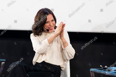 Editorial picture of 'Aitana Sanchez-Gijon: Cintas Y Letras' book prresentation, Madrid, Spain - 08 Feb 2021