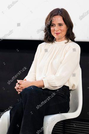 Editorial image of 'Aitana Sanchez-Gijon: Cintas Y Letras' book prresentation, Madrid, Spain - 08 Feb 2021