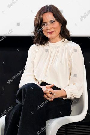 Stock Photo of Aitana Sánchez-Gijón during the presentation of the book 'Aitana Sanchez-Gijon: Cintas Y Letras'