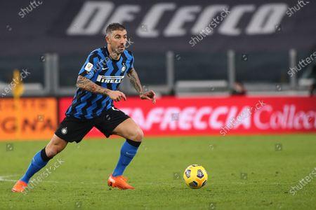 Editorial photo of Juventus FC v FC Inter Milan, Italian Coppa Italia football match, Allianz Arena, Turin, Italy - 09 Feb 2021