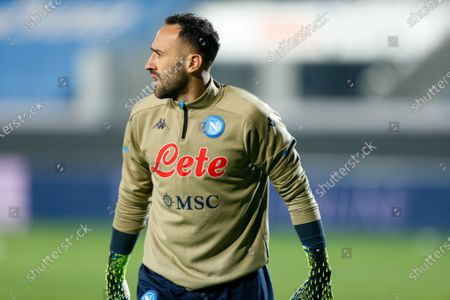 David Ospina (SSC Napoli) warming up before the match