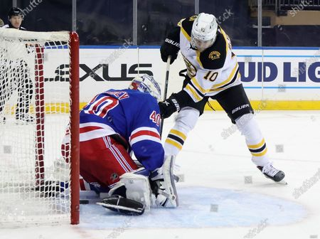 Editorial picture of Bruins Rangers Hockey, New York, United States - 10 Feb 2021