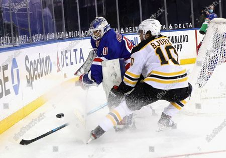Editorial photo of Bruins Rangers Hockey, New York, United States - 10 Feb 2021