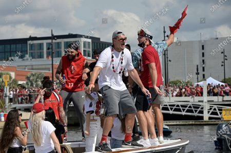 Editorial picture of Buccaneers Boat Parade Football, Tampa, United States - 10 Feb 2021