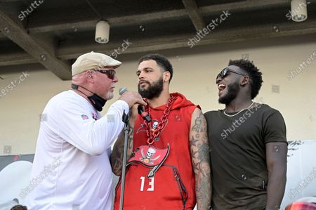 Editorial photo of Buccaneers Boat Parade Football, Tampa, United States - 10 Feb 2021