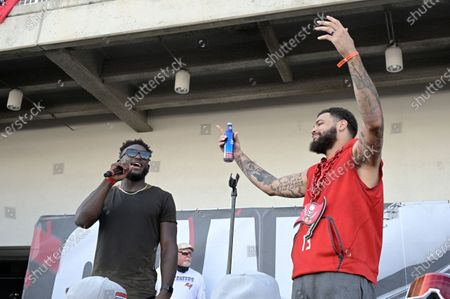 Editorial image of Buccaneers Boat Parade Football, Tampa, United States - 10 Feb 2021