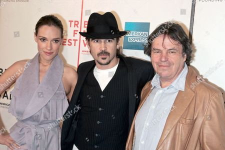 Alicja Bachleda, Colin Farrell and Neil Jordan, director