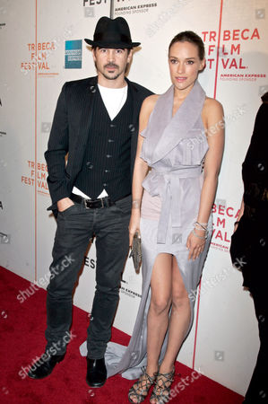 Colin Farrell and Alicja Bachleda