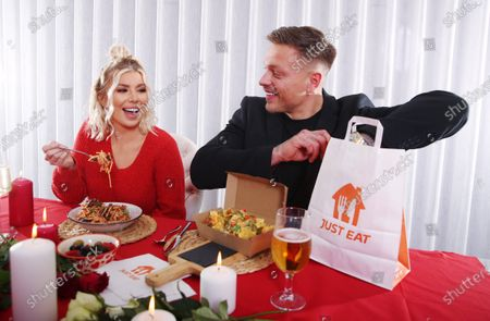 Editorial picture of Just Eat - Valentines Breakaway, London, UK - 11 Feb 2021