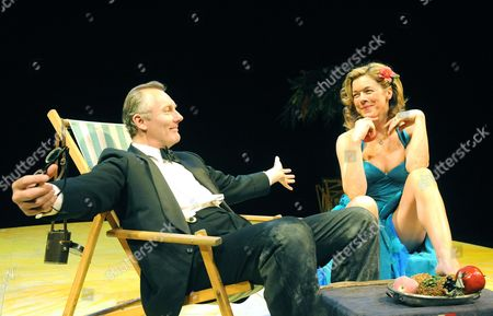 Editorial picture of 'The Little Hut' play at the Yvonne Arnaud Theatre, Guildford, Britain - 26 Apr 2010
