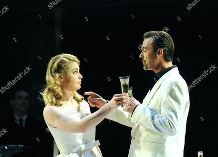 'Women Beware Women' - Lauren O'Neil (Bianca) and Richard Lintern (Duke of Florence)