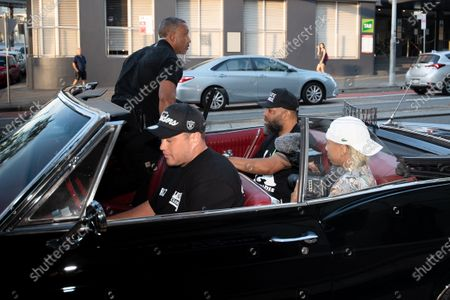 Stock Photo of NWA founding member Tracy Lynn Curry aka The D.O.C arrives for the Australian premiere of his documentary GFUNK