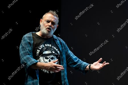 Editorial photo of Pablo Carbonell Performs In Madrid, Spain - 10 Feb 2021