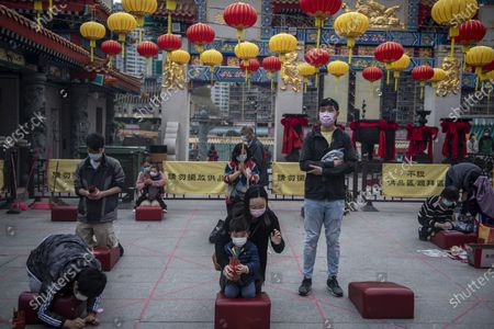 Editorial picture of Chinese New Year Preparations, Hong Kong, China - 11 Feb 2021