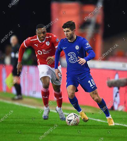 Editorial image of Barnsley v Chelsea, Emirates FA Cup Fifth Round, Football, Oakwell Stadium, Barnsley, UK - 11 Feb 2021