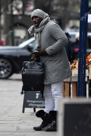 Editorial picture of Sol Campbell out and about, London, UK - 11 Feb 2021