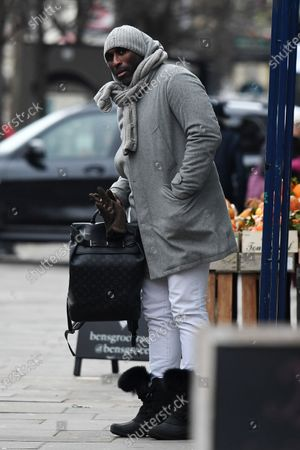 Editorial photo of Sol Campbell out and about, London, UK - 11 Feb 2021