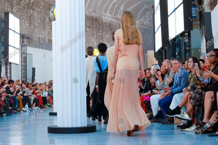 Editorial picture of Chloe show, Runway, Spring Summer 2020, Paris Fashion Week, Grand Palais, France - 26 Sep 2019