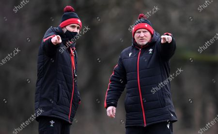 Editorial image of Wales Rugby Training - 11 Feb 2021