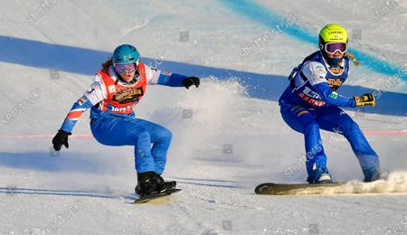 Editorial picture of FIS Snowboard Cross World Championships in Idre, Sweden - 11 Feb 2021