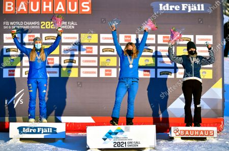 Editorial photo of FIS Snowboard Cross World Championships in Idre, Sweden - 11 Feb 2021