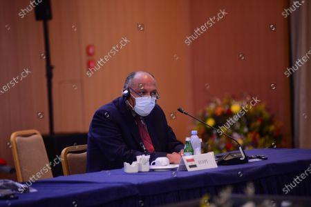 Editorial photo of Philia Forum in Athens, Attiki, Greece - 11 Feb 2021