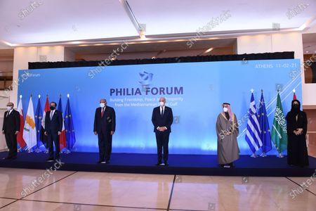 Editorial picture of Philia Forum in Athens, Attiki, Greece - 11 Feb 2021