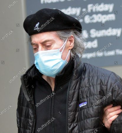 Editorial image of Exclusive - Richard Lewis and Joyce Lapinsky out and about, Los Angeles, California, USA - 11 Feb 2021