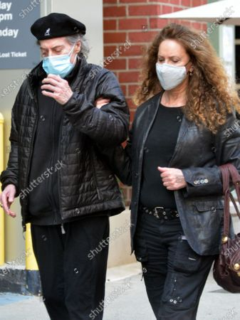 Editorial picture of Exclusive - Richard Lewis and Joyce Lapinsky out and about, Los Angeles, California, USA - 11 Feb 2021