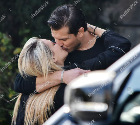 Editorial image of Gleb Savchenko and girlfriend Cassie Scerbo out and about, Los Angeles, California, USA - 11 Feb 2021