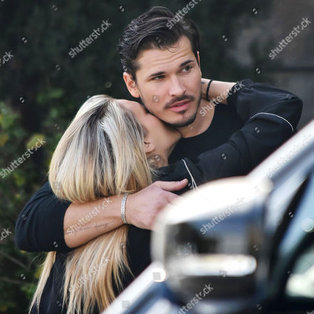 Editorial picture of Gleb Savchenko and girlfriend Cassie Scerbo out and about, Los Angeles, California, USA - 11 Feb 2021