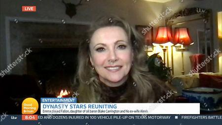 Editorial image of 'Good Morning Britain' TV Show, London, UK - 12 Feb 2021