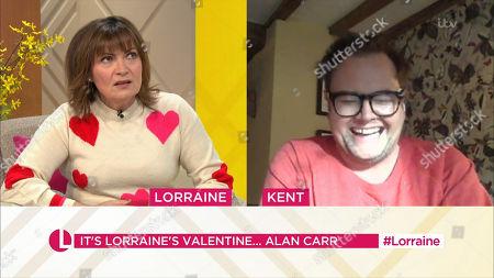 Stock Image of Lorraine Kelly, Alan Carr