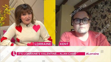 Stock Photo of Lorraine Kelly, Alan Carr