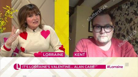 Editorial picture of 'Lorraine' TV Show, London, UK - 12 Feb 2021