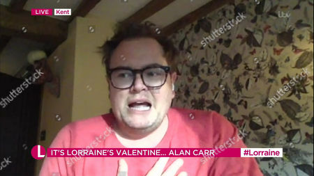 Stock Picture of Alan Carr