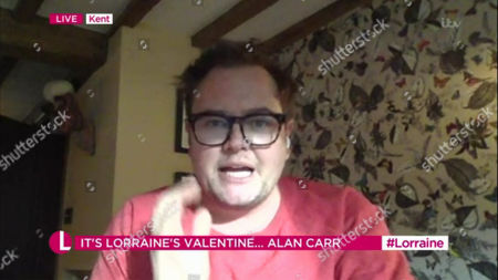 Editorial image of 'Lorraine' TV Show, London, UK - 12 Feb 2021