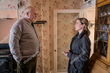 James Cosmo as Bill Bradwell and Morven Christie as DC Lisa Armstrong