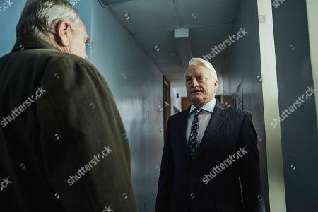 David Hounslow as Gerald Hart and James Cosmo as Bill Bradwell
