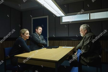 Morven Christie as DC Lisa Armstrong, Daniel Ryan as DI Tony Manning and James Cosmo as Bill Bradwell