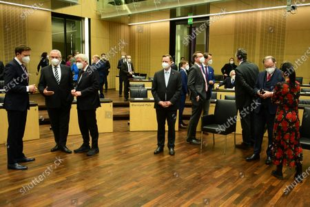 Editorial image of 1000th session of the German Federal Council Bundesrat, Berlin, Germany - 12 Feb 2021