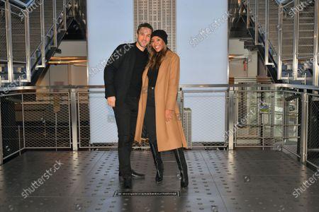 Stock Picture of Tayshia Adams and Zac Clark